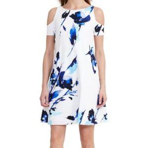 Lauren - Ralph Lauren Cold Shoulder Floral Dress